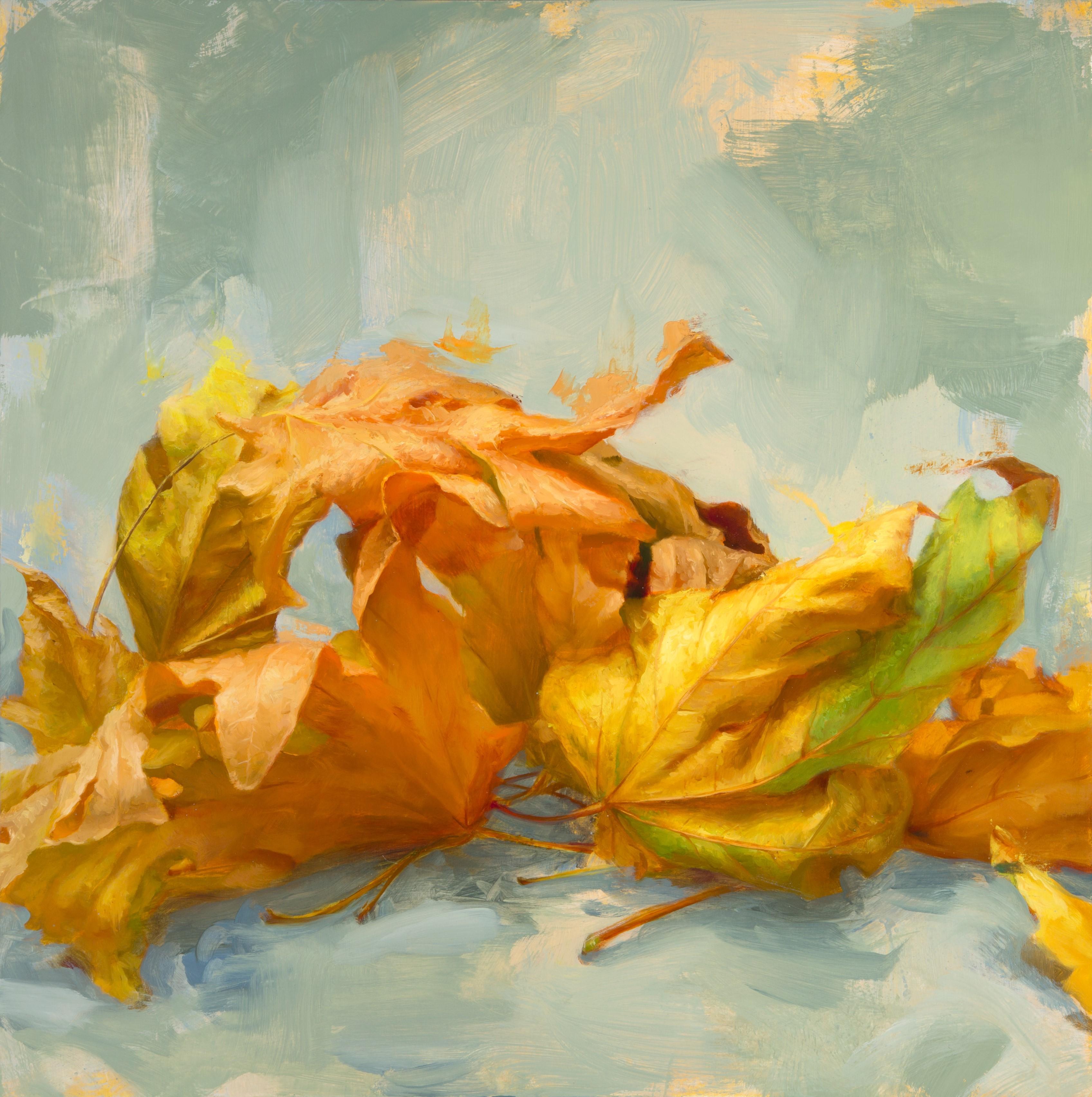 Leaves II, Oil Painting