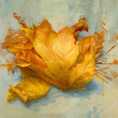 Leaves I, Oil Painting