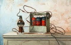 Feedback Loop, Oil Painting