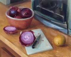 """""""Onions"""", Oil Painting"""