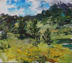 """""""In the Urals"""" Oil Painting"""