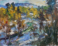 """""""Northern Landscape - First Snow"""" Oil Painting"""