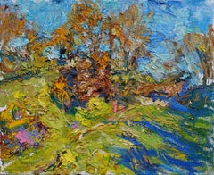 """""""Sunny Morning in Fall"""" Oil Painting"""