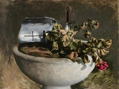 """Fallen"" Oil Painting"