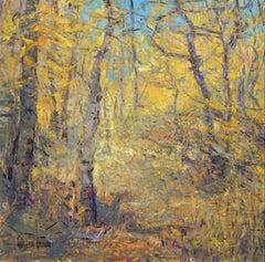 """""""Aspen Light"""" Oil Painting"""