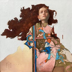 """""""Merida"""" Oil Painting"""