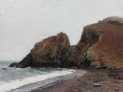 """Tennessee Valley Beach"" Oil Painting"