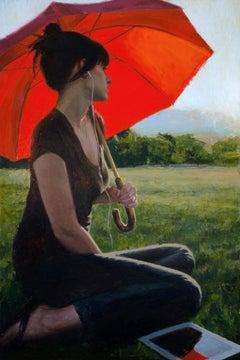 """""""Last Light"""" Oil Painting"""