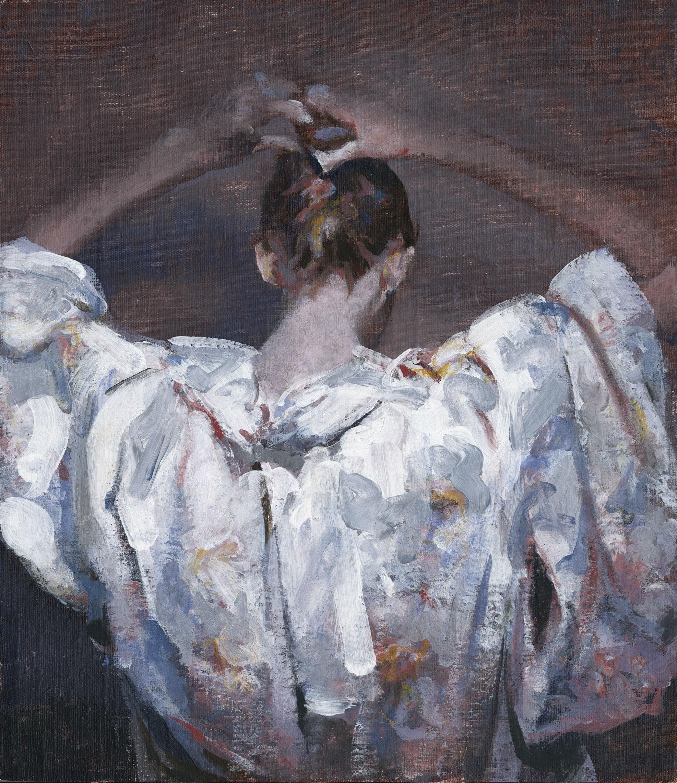 """Janice"" Oil painting"