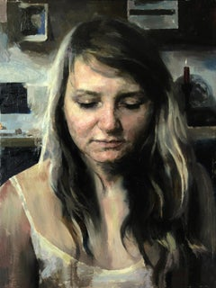 """""""Moments Before,"""" Oil painting"""