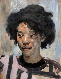 """""""Michelle,"""" Oil painting"""