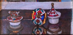 """""""Russian Tea Party: Introduction"""" Oil painting"""