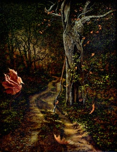 """King's Highway Deep"", Oil Painting"