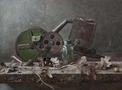 """""""Seeder"""" Oil painting"""