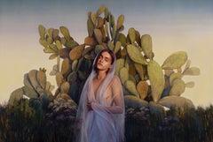 Serene, Oil painting