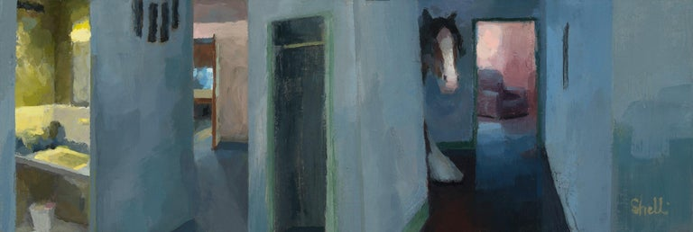 Shelli Langdale Animal Painting - Reverie