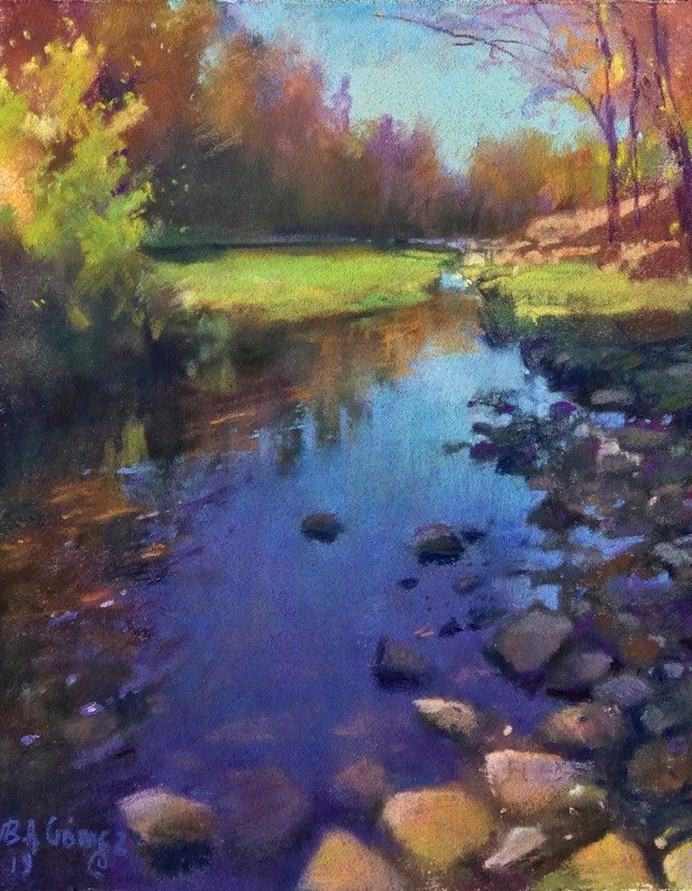 Bruce A Gómez Figurative Art - Sedona Oak Creek