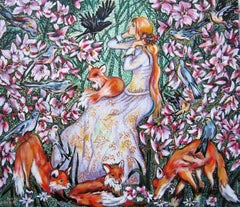 """Fairy Tale"" Oil painting"