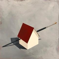 """The Failed Attempt at Avoiding the Inevitable"", Acrylic Painting"