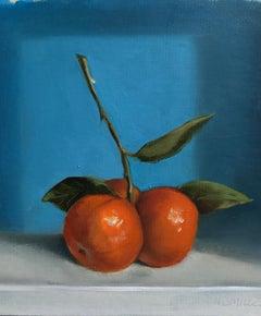 """Mandarins"" Oil painting"
