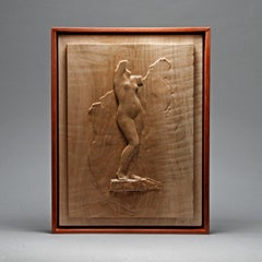 """Female Torso"" Bas-relief Sculpture"