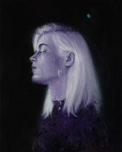 """Violet"" Oil painting"