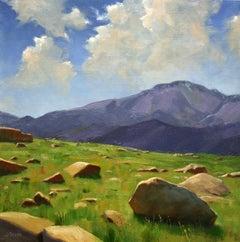 """""""Rock Garden"""", Oil Painting"""
