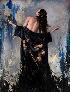 """""""Emergence,"""" Oil painting"""