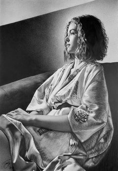 """""""Coma Berenices"""" Graphite Drawing"""