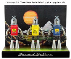 Three Robots Special Deluxe, Found objects