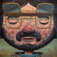 Skyler Dreaming, Oil painting