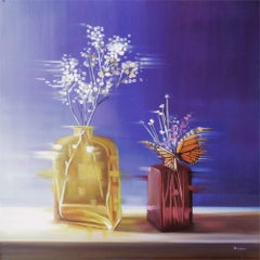 Violet and Gold, Oil painting