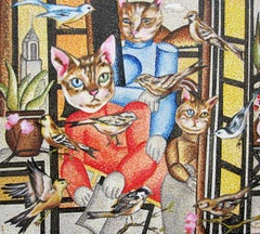 """""""Family Unit"""" Oil painting"""