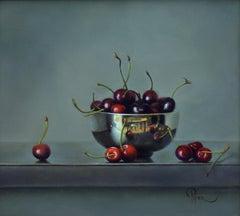 """""""Cherries"""" Oil Painting"""