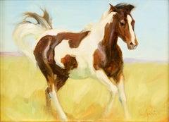 """Morning Run"" Oil painting"