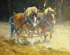 """Fallow Fields"" Oil painting"