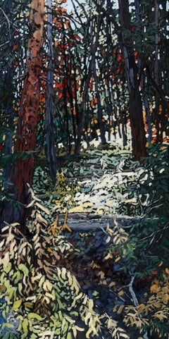 """""""The Forest Embraces the Soul"""" Oil Painting"""