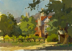 """Holy Harvest"" Gouache Painting"