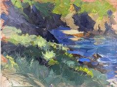"""Big Sur Big Green"" Oil Painting"