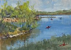 Gouache Landscape Paintings