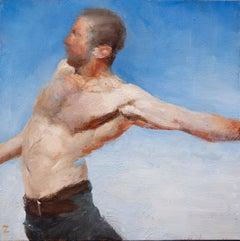 """Help 1"" Oil Painting"