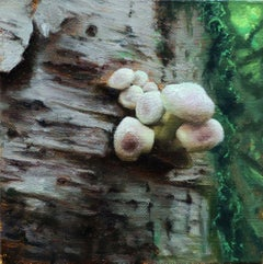 """Bursting the birch"" Oil Painting"