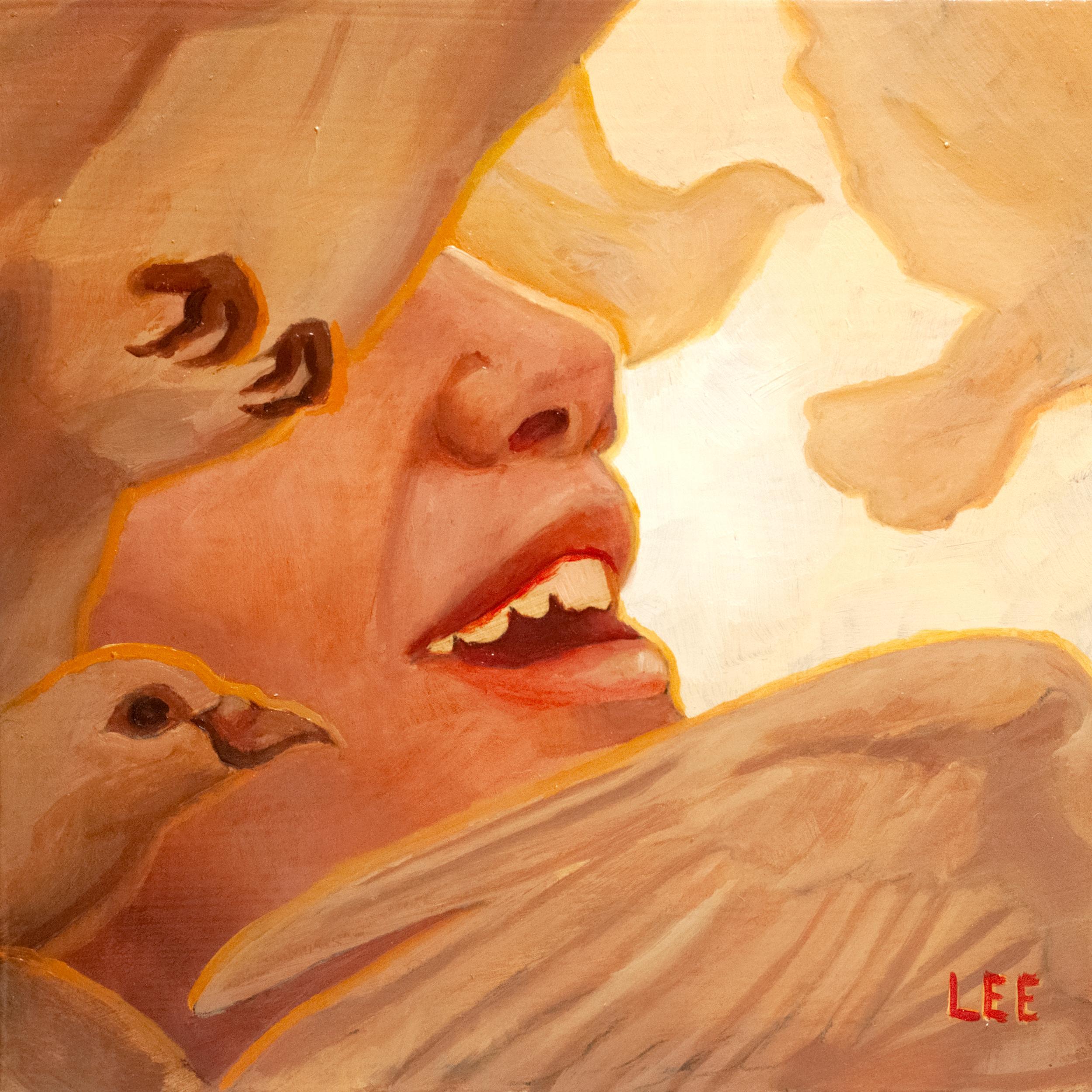 """Speak"" Oil Painting"