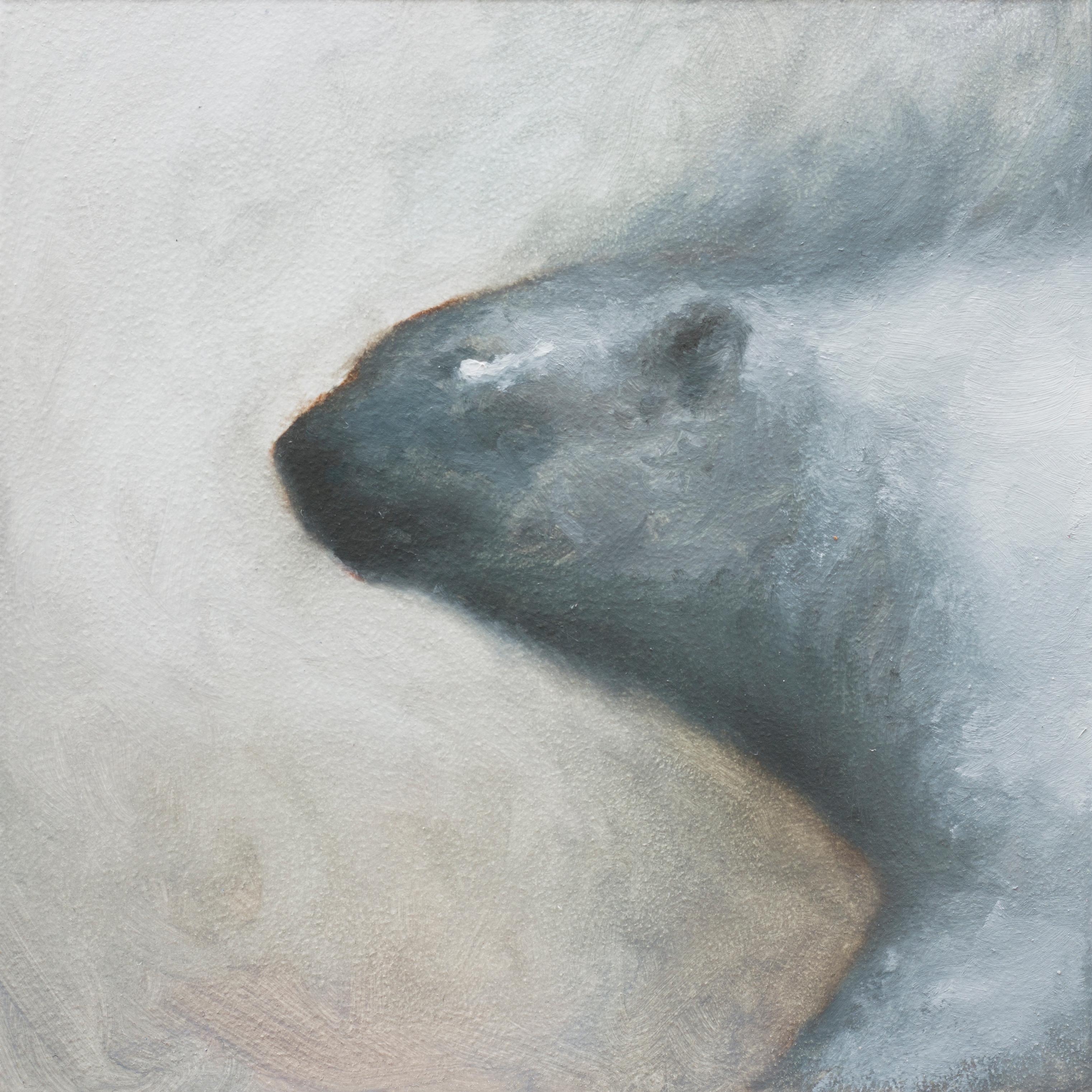 """""""Smokey Polar"""" Oil Painting"""