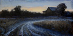 """""""Old Road"""" Oil painting"""