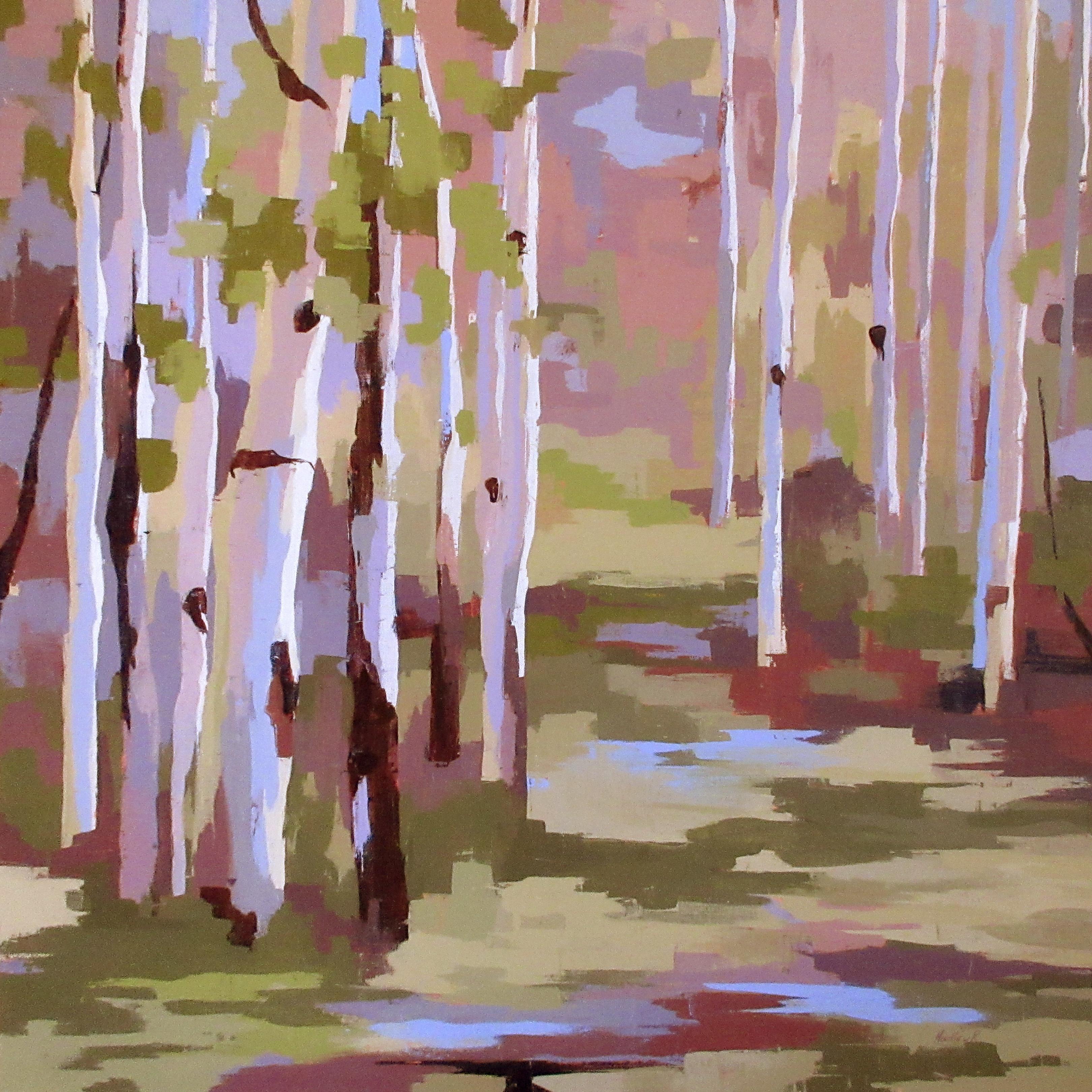 """Lush,"" Oil Painting"