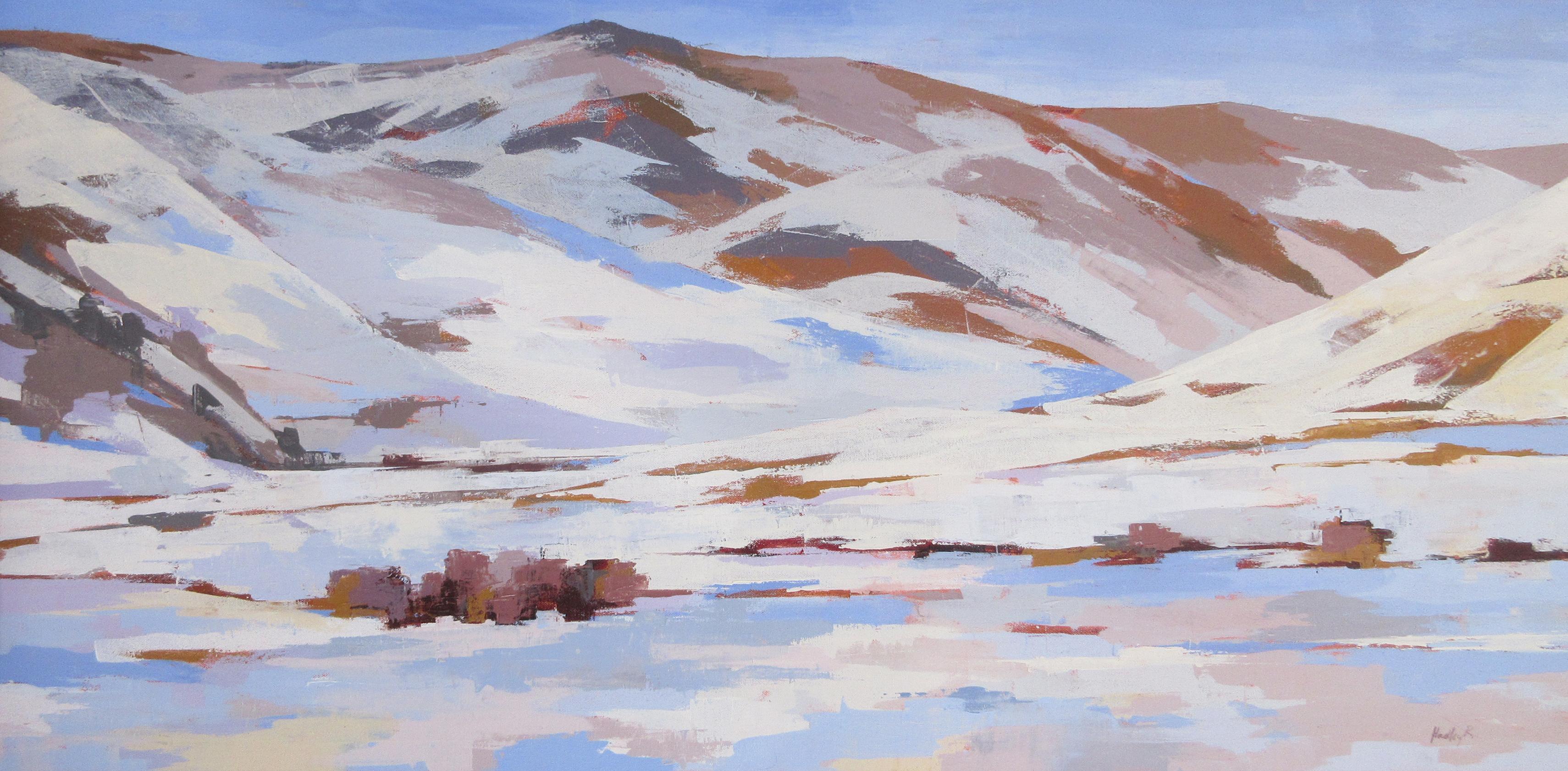 """Glissando,"" Oil Painting"
