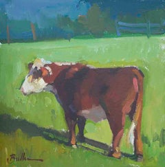 """""""Waiting for Feed"""" Oil Painting"""