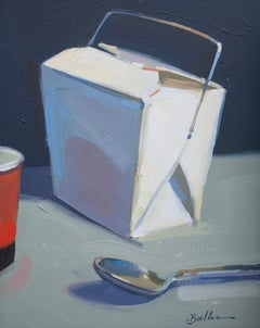 """""""Takeout Box"""" Oil Painting"""