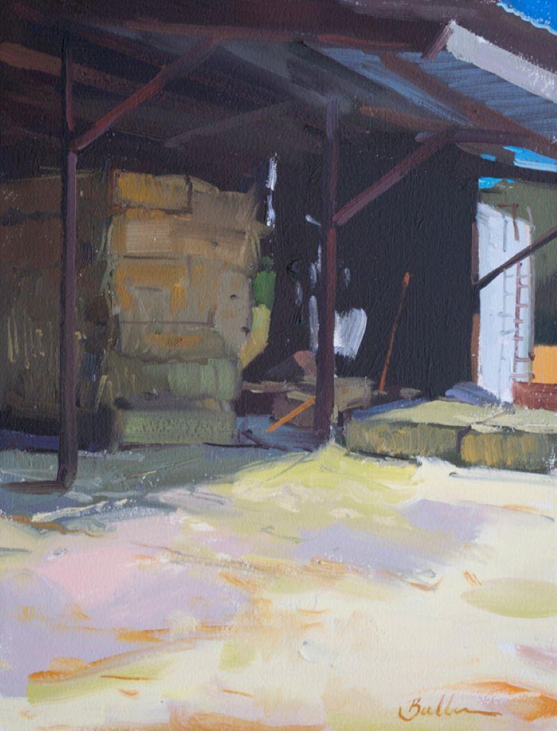 """Summertime Hay"" Oil Painting"